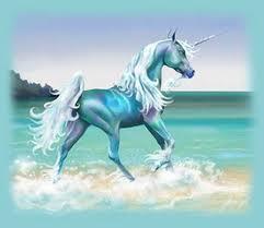awesome day glo unicorn art painting rare promo still cute adorable promo photo