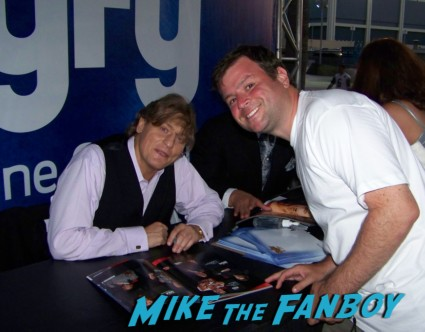william regal damien sandow big red machine   sexy wrestler  ooking hot at the wwe Summer Slam Axxess 2012 fan event downtown los angeles signing autographs rare promo