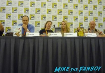 remixed fairtales and superhero love panel san diego comic con 2012 sdcc Michael Scott, Cecil Castellucci, Marissa Meyer, Tracy Hickman
