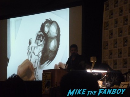 quick draw artist panel at san diego comic con 2012 rare promo hot sdcc