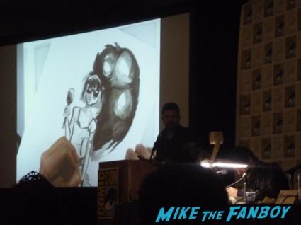 quick draw artist panel at san diego comic con 2012 rare promo hot sdcc