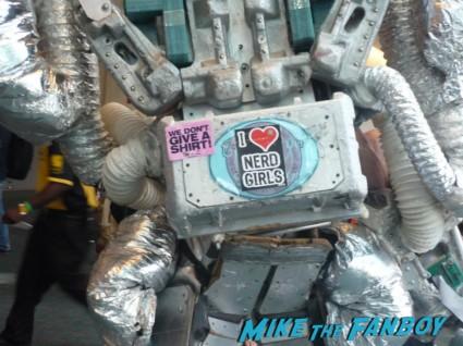 i heart nerd girls bumper sticker at san diego comic con 2012 sdcc 2012 rare promo metal machine hot