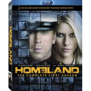 Homeland season 1 rare blu ray cover art press still key art claire danes homeland rare promo press still claire danes damian lewis hot sexy showtime series promo still