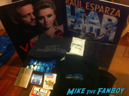 swag from the broadway flea market magic mike shirt leap of faith program rare promo
