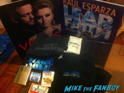 swag from the broadway flea market magic mike shirt leap of faith program rare promo