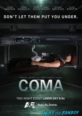 comic con Coma id bracelet badge A and E mini series san diego comic con 2012 rare promo