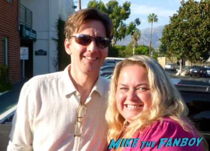 andrew mccarthy with pinky at his book signing 2012 1980s star weekend at bernies pretty in pink less than zero