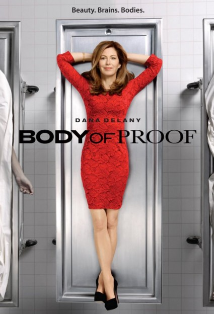 Body of proof season 2 rare promo poster key art dana delany dvd promo still promo poster jeri ryan hot sexy star china beach
