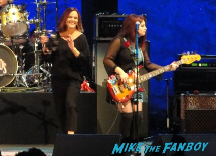 The Go-Go's live in concert 2012 at the hollywood bowl los angeles CA 9-29-12 concert tour belinda carlisle jane wiedlin charlotte caffey gina schock