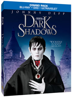 Dark shadows blu ray blu-ray combo pack key art promo poster rare johnny depp barnabas collins tim burton michelle pfeiffer