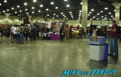 the giant open areas inside stan lee's comikaze expo 2012 even though they made people stand in line for hours to get in