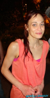 Fiona Apple taking a rare fan photo after the concert at the greek theater in los angeles fiona apple greek theater los angeles ca concert photo rare promo live september 14th 2012 hot sexy rare