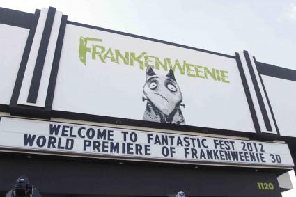 Frankenweenie Fantastic Festival world movie premiere with Tim Burton Winona Ryder Martin Landau