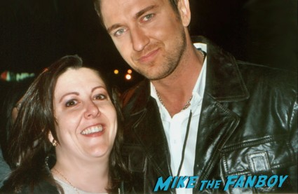 Suddenly Susanfrom  mike the fanboy with gerard butler fan photo rare promo hot sexy scottish star 300 the ugly truth rare