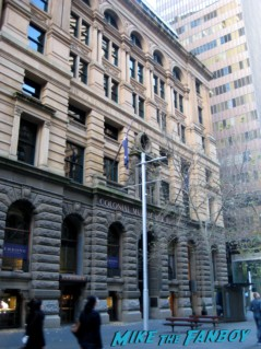 the matrix Sydney australia the filming location for the matrix trilogy colonial building  fountain  rare promo neo hot sexy keanu reeves