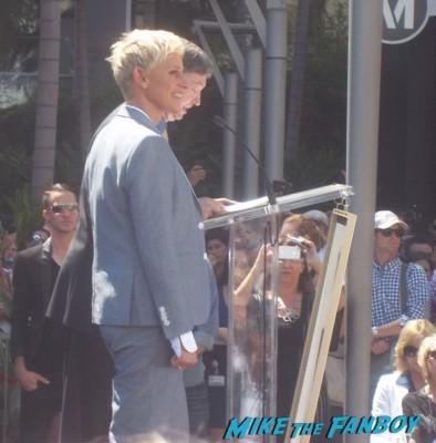 Ellen DeGeneres Walk Of Fame Star Ceremony Recap And Photo Gallery!  Autographs! Photos! And... Portia de Rossi!  Hubba Hubba!