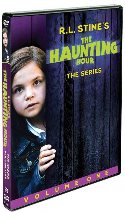 RLStineHauntingHour_Volume1 rare promo press key art R L Stine's The Haunting hour volume one on DVD