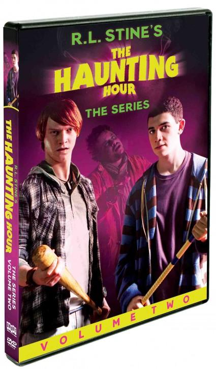 R.l. Stine's The haunting hour volume 2 the series dvd cover key art rare promo dvd cover art rare promo