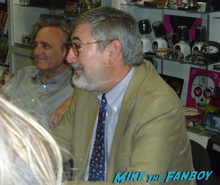 john landis and joe dante at the dark delicacies sleepwalkers dvd signing Joe Dante, John Landis, and Mick Garris dark delicacies sleepwalkers dvd signing rare masters of horror