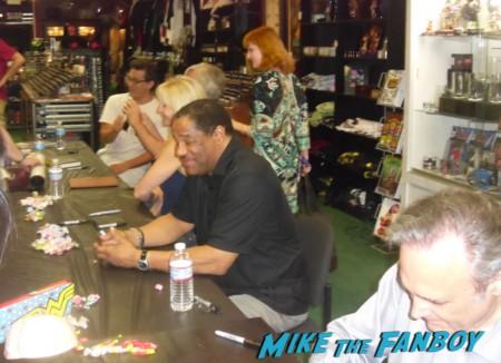 john landis, joe dante, dan martin signing autographs at dark delicacies rare