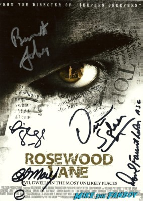 rosewood lane signed dvd signing autographs for fans at dark delicacies at the jeepers creepers blu ray dvd signing below zero the hills have eyes
