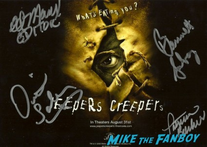 jeepers creepers 2 signed dvd signing autographs for fans at dark delicacies at the jeepers creepers blu ray dvd signing below zero the hills have eyes
