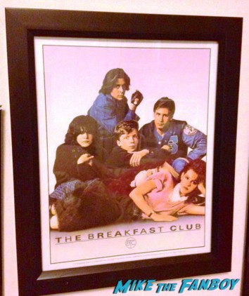 Pinky's framed breakfast club poster from her wall not signed or autographed