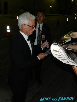 john slattery signing autographs at the Emmy Party 2012! The Stars Of AMC! Breaking Bad! Mad Men! With Aaron Paul! Bryan Cranston! John Slattery! RJ Mitte! Betsy Brandt! Autographs! Photos and More!