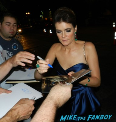 betsy brandt and rj mitte sexy signing autographs at the Emmy Party 2012! The Stars Of AMC! Breaking Bad! Mad Men! With Aaron Paul! Bryan Cranston! John Slattery! RJ Mitte! Betsy Brandt! Autographs! Photos and More!