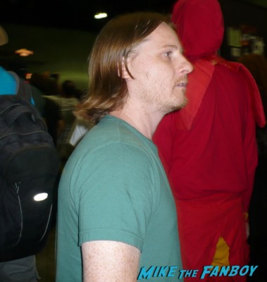 danny cooksey at stan lee's  comikaze expo 2012 sweating in the heat of the day