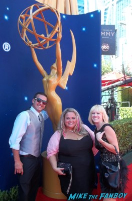 pinky and lindsay from I am not a stalker at the emmy awards 2012 rare promo fan photo hot