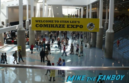 leaving for the day selling harry potter memorabilia at stan lee's comikaze expo 2012 sweating in the heat of the day