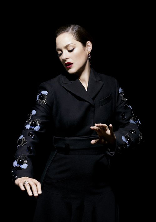 marion cotillard flawless time style and design fall 2012 magazine cover hot sexy photo shoot la vie en rose dark knight rises rare promo hot sexy inception
