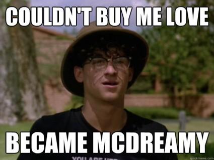 mcdreamy meme patrick dempsey can't buy me love ronald miller rare promo scream 3 rare funny meme hot sexy patrick dempsey