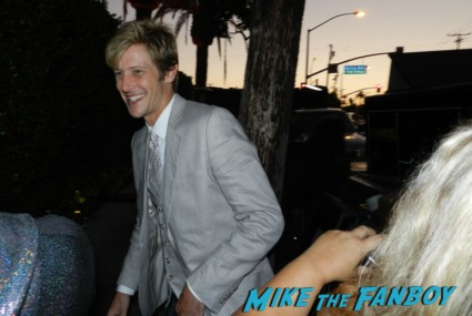 sexy Gabriel Mann signing autographs for fans emmy party rare promo photo hot sexy photo