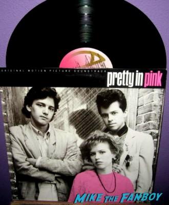 pretty in pnk soundtrack album rare promo beat to shit wall art andrew mccarthy molly ringwald jon cryer