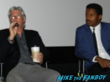 richard gere signing autographs for fans q and a at a screening of arbitrage rare promo signing autographs for fans 001