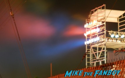 the lights form the killers outdoor concert concert looking great the killers signing autographs jimmy kimmel live 008