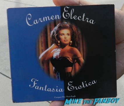 carmen electra rare Fantasia Erotica cd single cover hot sexy rare promo digipack