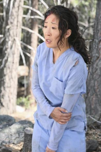 sandra oh grey's anatomy season 8 press promo photo hot grey's anatomy season 8 rare promo cast photo patrick dempsey hot sexy ellen pompeo promo photo