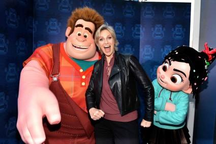 "Jane Lynch at the Premiere Of Walt Disney Animation Studios' ""Wreck-It Ralph"" - Red Carpet"