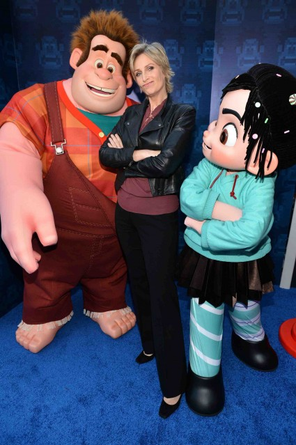 "Jane Lynch at the Premiere Of Walt Disney Animation Studios' ""Wreck-It Ralph"" - Red Carpet"