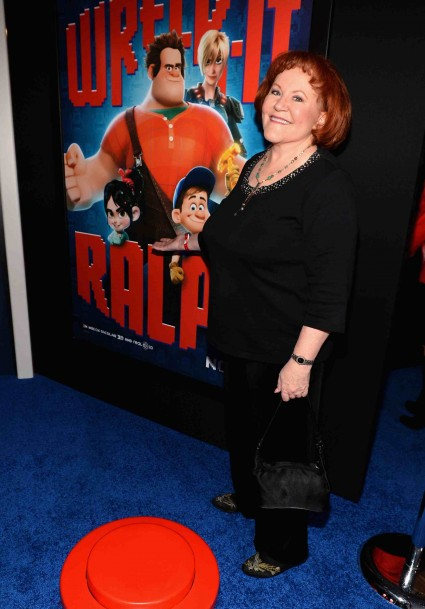 "edie McClurg arrives at the Premiere Of Walt Disney Animation Studios' ""Wreck-It Ralph"" - Red Carpet"