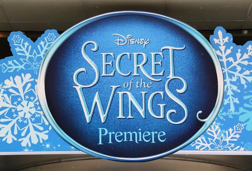 Tinkerbell secret of the wings new york movie premiere with mike tyson angelica huston matt lanter timothy dalton mae whitman