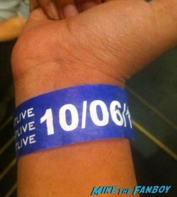 wristband for saturday night live taping elisa's saturday night live ticket stand by line rare promo daniel cragi on saturday night live