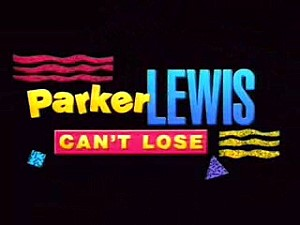 Parker Lewis Can't lose logo rare promo fox series 1990's rare corin nemec rare promo logo photo