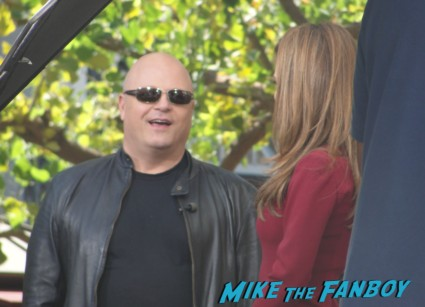 Michael Chiklis being interviewed on extra the commish fantastic four no ordinary heroes rare promo hot signing autographs
