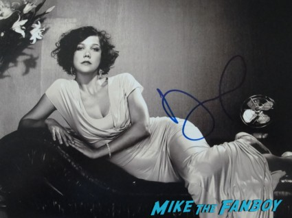 Maggie Gyllenhaal signed autograph promo photo sexy rare hottie the dark knight rises rare promo hot sexy promo photo graph rare promo sex damn