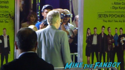 christopher walkin arriving at seven psychopaths movie premiere red carpet signing autographs colin farrell hot sexy rare promo