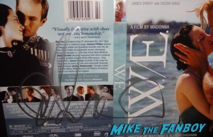 Abbie Cornish signed autograph W/E dvd cover insert madonna directing rare movie poster promo